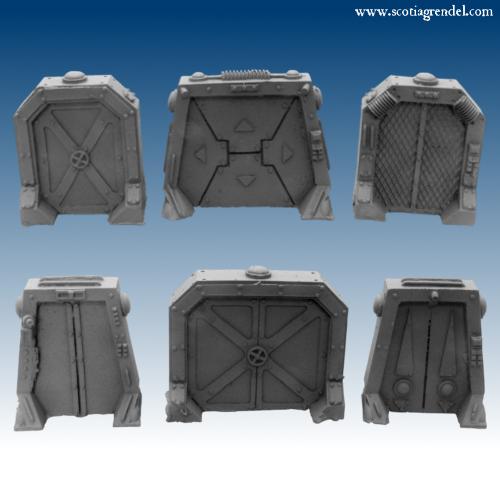 10091 - Sci-Fi Doors (F0008)  sc 1 st  Scotia Grendel & ACR07 - Airlock Doors : Scotia Grendel Webstore