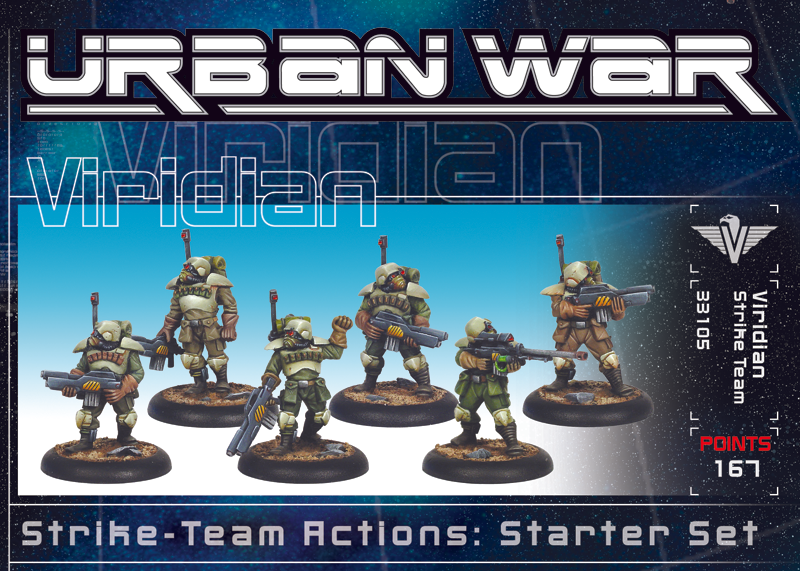 33110 - Urban War Viridian Strike Team