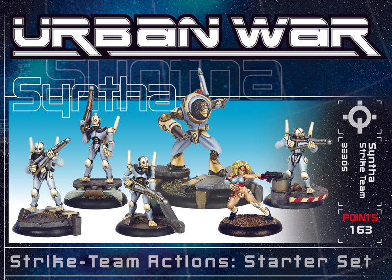 33310 - Urban War Syntha Strike Team