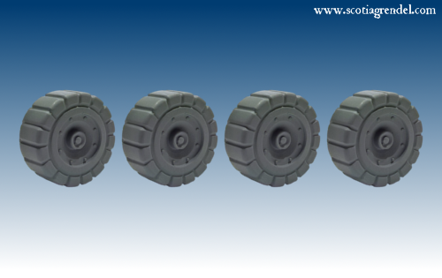 ACR80 - Large Industrial Wheels