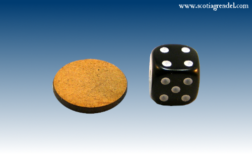 ACR114 - 20mm MDF Bases (Round)