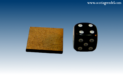 ACR115 - 20mm MDF Bases (Square)