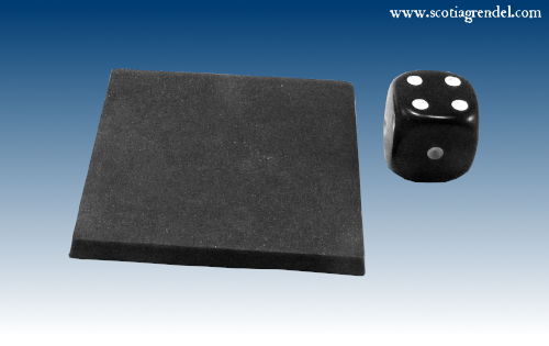 ACR119 - 40mm Square Bases