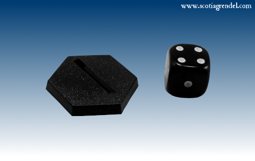 ACR121 - 25mm Hexagonal Bases