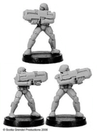 11352 - Prosthene Marines with Pulse Rifles