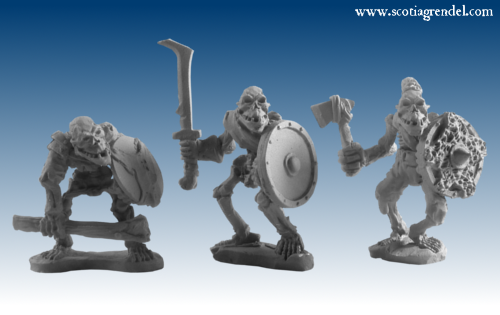 GFR0110 - Undead Orcs Warriors IV