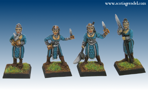 GFR0117 - Chaos Queen's Maiden Guard (4)