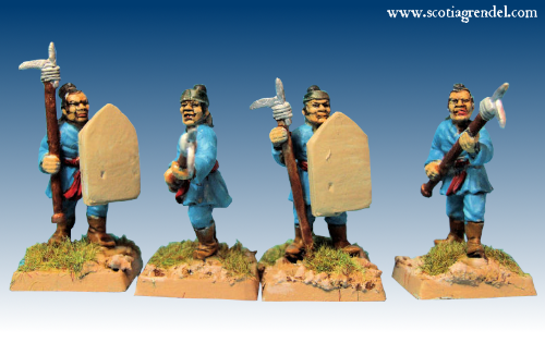 GFR0143 - Infantry with Dagger Axes (8)