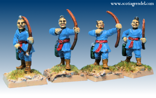 GFR0144 - Infantry with Bows (8)