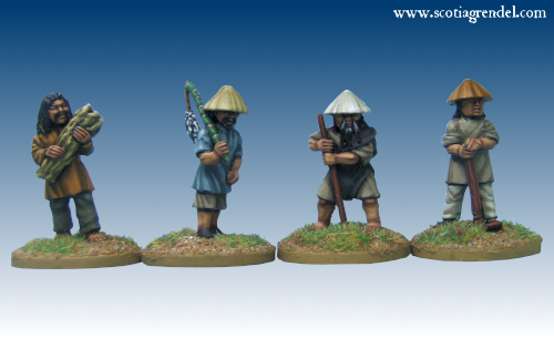 GFR0162 - Chinese Male Villagers (4)