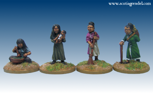 GFR0163 - Chinese Female Villagers (4)