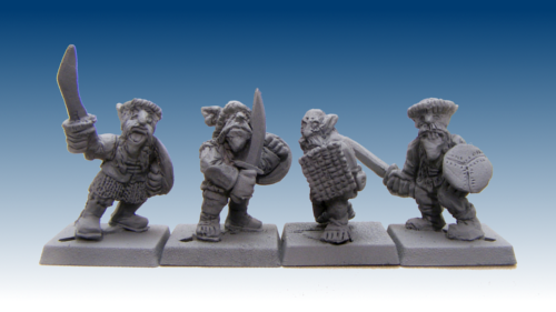 GOW1003 - Steppe Warriors with Hand Weapons