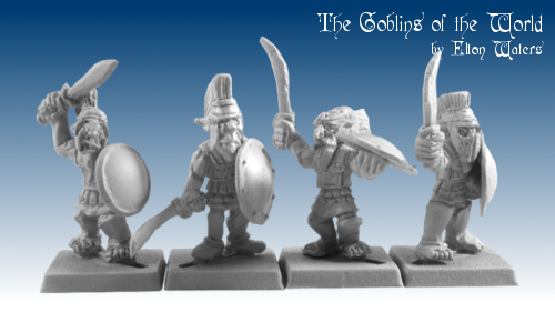 GOW5001 - Hopgoblins in linen armour with Swords