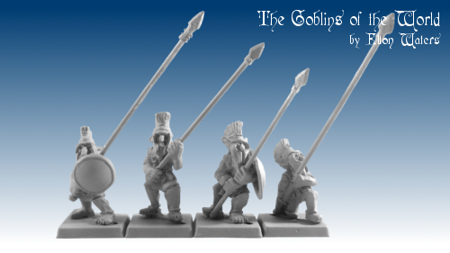 GOW5002 - Hopgoblins in linen armour with Spears/pikes