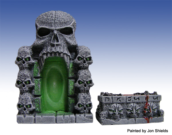 10013 - Skull Gate and Altar - Click Image to Close