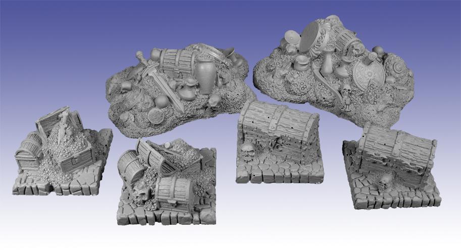 10038 - Treasure Piles : Scotia Grendel Webstore
