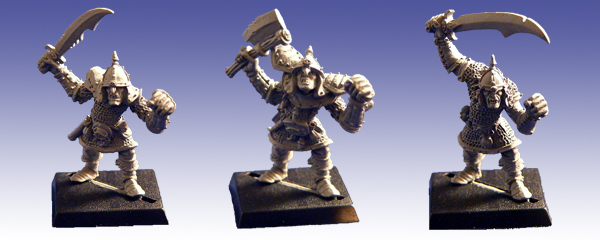 GFR0005 - Greater Orcs with Hand Weapons I