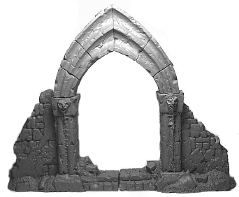 10033 - Ruined Gothic Archway