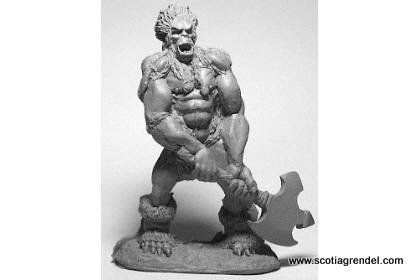 20026 - Barbarian Warper with Axe