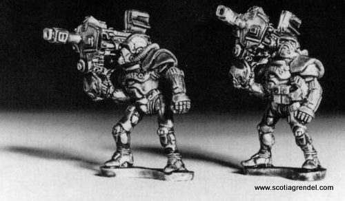 KNO-008 - Nexus SWAT Team Heavy Weapons
