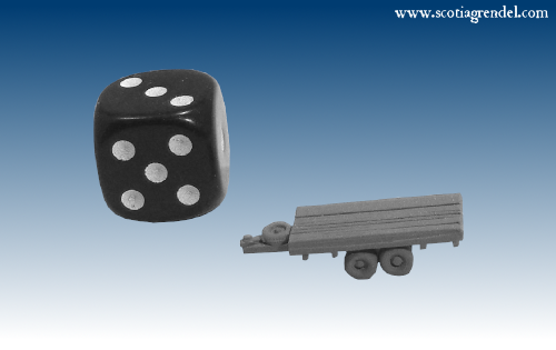 NE036 - Medium flatbed centre axles