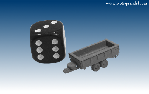 NE038 - Medium trailer centre axles with sides