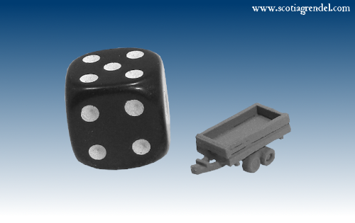 NE042 - Small trailer centre axles with sides