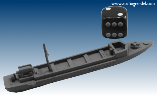 STS77 - Type E WWII Japanese river swamp landing craft