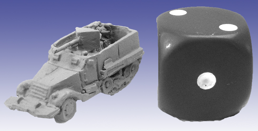 US0011 - M3 Half-Track with 37mm AT Gun