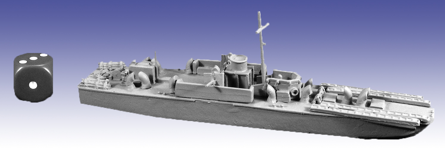 STS07 - LCI(S) Landing Craft Infantry (Small)
