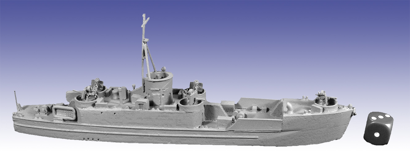 STS08 - LCI(L) Landing Craft Infantry (Large) Late Version