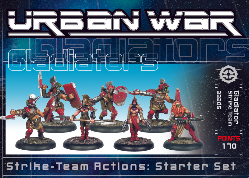 33210 - Urban War Gladiator Strike Team