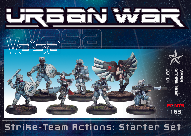 33710 - Urban War VASA Strike Team