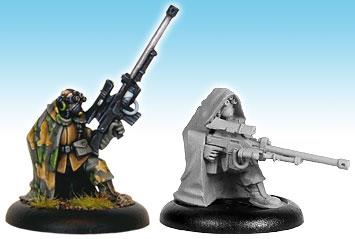 Miniaturas para crear los ejercitos 13103_Viridian_Snipers