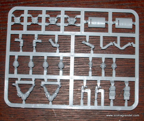 3191401 - 5 Junkers plastic sprues and bases