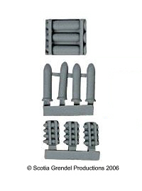 ACR70 - Ordnance set 1: Shells & Shell Racks (11904)