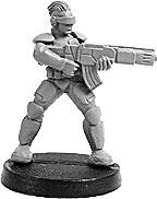 11346 - Prosthene Sergeant with Gauss Rifle