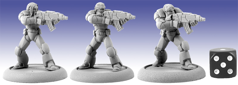 11124 - Fenrir's Assault Marines (Firing)