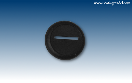 ACR63 - 30mm Round Slotta Bases with Curved Lip (46505)