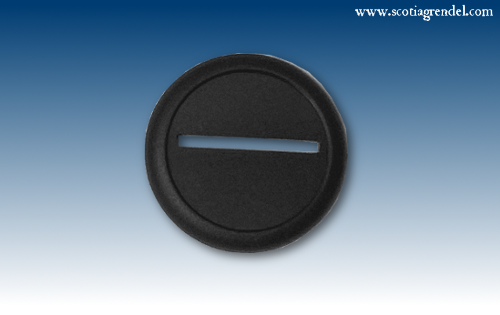 ACR64 - 40mm Round Slotta Bases with Curved Lip (46506)