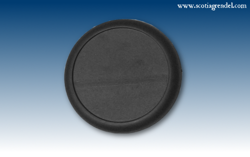 ACR65 - 50mm Round Slotta Bases with Curved Lip (46507)