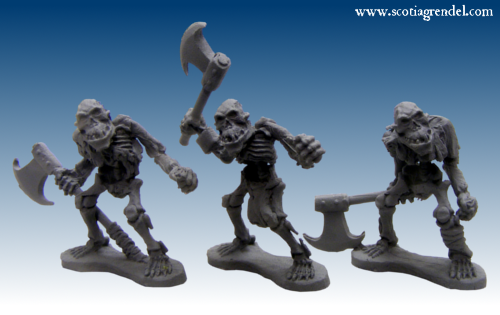 GFR0109 - Undead Orcs Warriors III