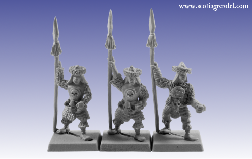 GFR0023 - Barbarian Spearmen II