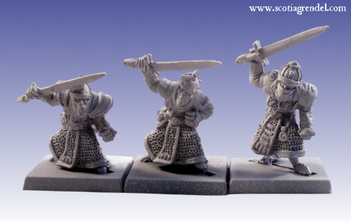 GFR0037 - Stygian Orc with Hand Weapons II