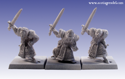 GFR0038 - Stygian Orc with Hand Weapons III
