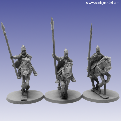 GFR0046 - Northmen Cavalry with Spear I