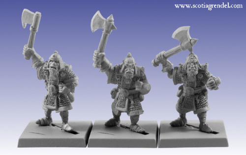 GFR0058 - Half-Orc with Axe I