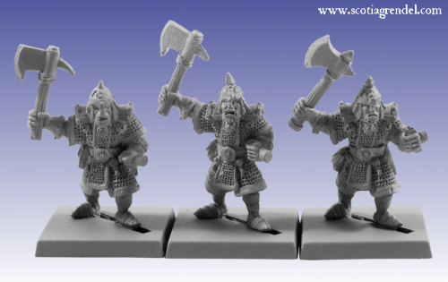 GFR0059 - Half-Orc with Axe II