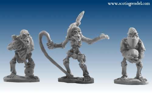 GFR0112 - Undead Orcs Warmachine Crew