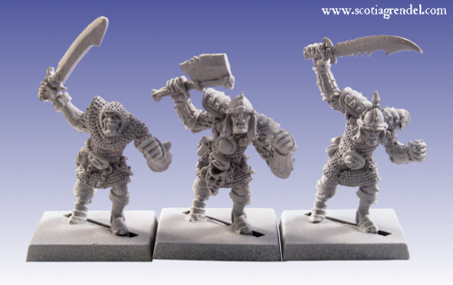 GFR0015 - Greater Orcs with Hand Weapons II